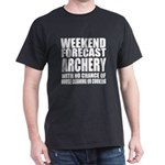 Weekend Forecast Archery Sports Desig T-Shirt