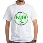 CerebralPalsyFaith White T-Shirt
