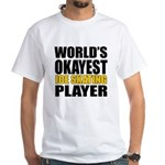 Worlds Okayest Ice Skating Shirt