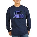 Never Knew A Hero 2 LT BLUE (Father) Long Sleeve D