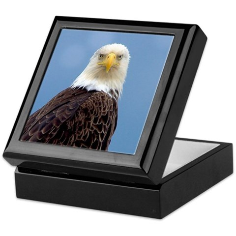 - Bald Eagle Alaska Keepsake Box by CafePress