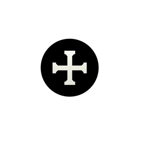 - CT Cross  Mini Button by CafePress