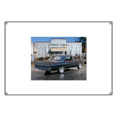 Dodge Coronet R/T  Retro Banner by CafePress