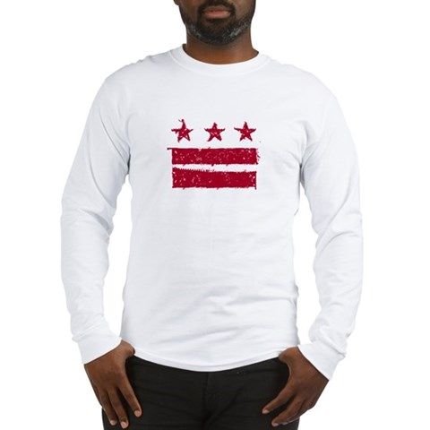 Product Image of DC Flag: True Grit Long Sleeve T-Shirt