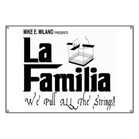 Wrestling Banner by CafePress