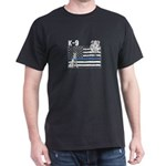 Vintage Thin Blue Line Police K 9 Family A T-Shirt