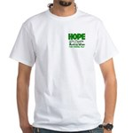 HOPE Cerebral Palsy 1 White T-Shirt