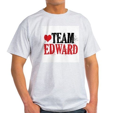 Light Twilight Team Edward T-Shirt Twilight Light T-Shirt by CafePress