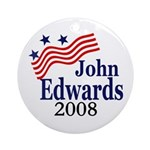 John Edwards 2008 (Christmas Tree Ornament)