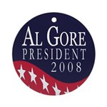 Al Gore Christmas Tree Ornament
