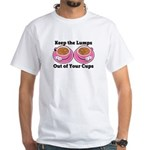 Naughty Breast Cancer Awareness Art For Wo T-Shirt