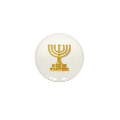 - Menorah  Mini Button by CafePress