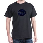 Save the Earth Peace Night Globe T-Shirt