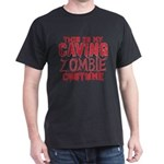 This Is My Caving Zombie Costume Halloween T-Shirt