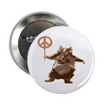 Peace Hamster Buttons (10 pack)