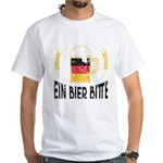 Ein Bier Bitte German Flag One Beer Please T-Shirt
