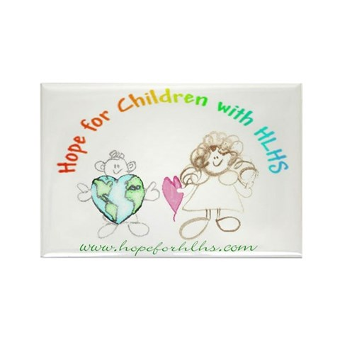 'Hope' Logo  Children Rectangle Magnet 10 pack by CafePress