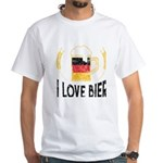 I Love Bier German Flag Beer Lover Oktober T-Shirt