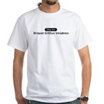 Obey the Briquet Griffon Vend White T-Shirt