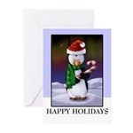 Christmas Holiday Penguin Greeting Cards (2358101 of 10)