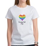 Heart LGBTQ Coming Out Day T-Shirt