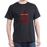 Blood Is The Ink Of Freedom Veterans Patri T-Shirt