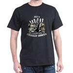 Just A Man Wore Combat Boots Veteran T-Shirt