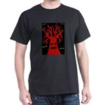 Creepy Tree and Eyes T-Shirt