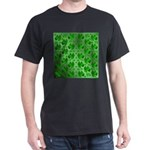 funny, laughing, shamrocks, green, st patr T-Shirt