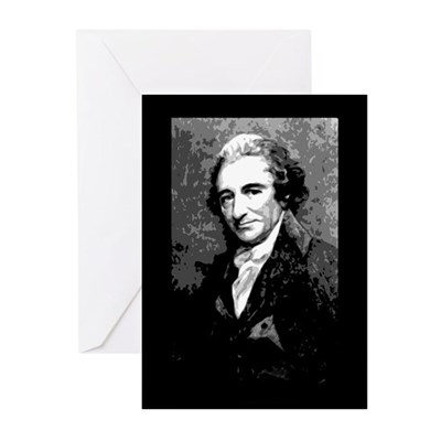 Thomas Paine Day Greeting Cards