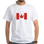 Funny Canadabis Flag T-Shirt