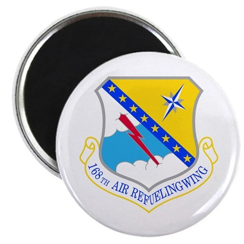 168th Air Refueling Wing 2.25quot; Magnet 10 pac Military 2.25 Magnet 10 pack by CafePress