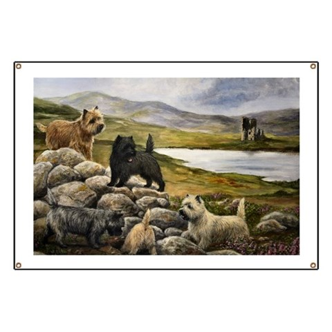 Cairn Shop Designs  Pets Banner by CafePress