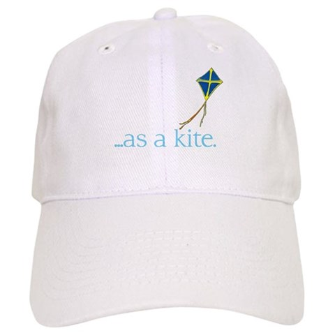 ...as a kite  Funny Cap by CafePress