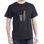 Bisexual Thin Line American Flag T-Shirt