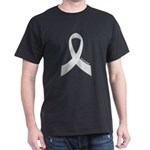 Lung Cancer Awareness Ribbon T-Shirt