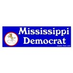 Mississippi Democrat Bumper Sticker