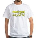 Proud Owner - Claw Intact Cat White T-Shirt