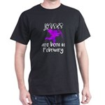 Valentine Lovers are Born in Febraury Birt T-Shirt