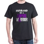 Husband of a Lupus Warrior with Ribbon T-Shirt