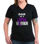 Dad of a Lupus Warrior with Ribbon T-Shirt