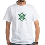 Green Snowflake T-Shirt