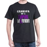 Grandpa of a Lupus Warrior with Ribbon T-Shirt