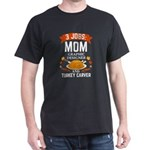 3 jobs mom Graphic Designer turkey carver T-Shirt