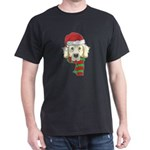 Funny Christmas Dog Xmas Santa Golden Ret T-Shirt