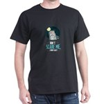 Funny Grave Skeleton Scare to Poop Tomb T-Shirt