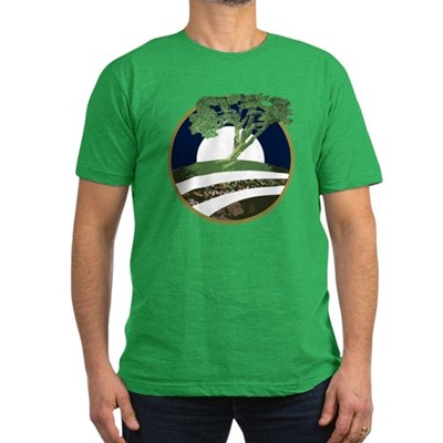 Barack Obama Tree Symbol Dark T-Shirt