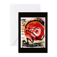 Abstract 'Plotkin's Entropy' Greeting Cards