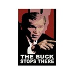 Bush: The Buck Stops There Magnet