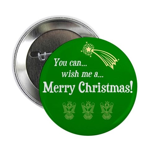 Christmas button 100 pack Religion 2.25 Button 100 pack by CafePress